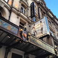 Photo taken at Gielgud Theatre by Bryan H. on 8/22/2012