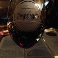 Photo taken at Zambrano Wine Cellar by Daniel K. on 3/15/2012