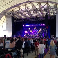 Photo taken at Blue Hills Bank Pavilion by Garrett G. on 6/20/2012