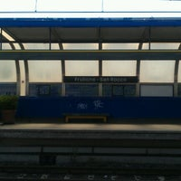 Photo taken at Metro Frullone - San Rocco (L1) by Angelo C. on 6/8/2012