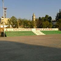 Photo taken at Deportivo Boulevares by Arturo G. on 5/1/2012