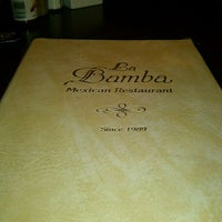 Photo taken at La Bamba Mexican Restaraunt by Anne L. on 3/14/2012