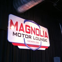 Photo taken at Magnolia Motor Lounge by Michael T. on 4/27/2012
