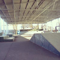 Photo taken at Skate park by Tony L. on 7/14/2012