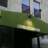 Photo taken at Loring Kitchen and Bar by JAYSON D. on 7/10/2012