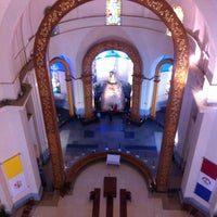 Photo taken at Santuario de la Virgen de Caacupé by Cristhian O. on 6/6/2012