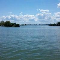 Photo taken at Sandusky Bay by Jacinta K. on 8/12/2012