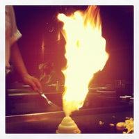Photo taken at Wasabi Japanese Steakhouse & Sushi Bar by JoPhoto on 2/5/2012