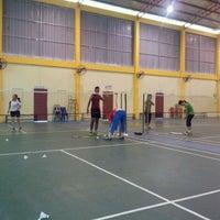 Photo taken at Arena Badminton, ST JOHN by Alam ramadan S. on 4/7/2012