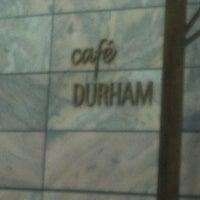 Photo taken at Café Durham by Greg Q. on 2/18/2012