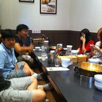 Photo taken at 채선당 by Kimberly L. on 8/10/2012