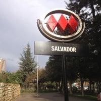 Photo taken at Metro Salvador by Alberto V. on 6/16/2012