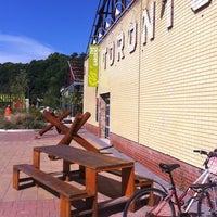 Photo taken at Evergreen Brick Works by Reinaldo C. on 9/1/2012