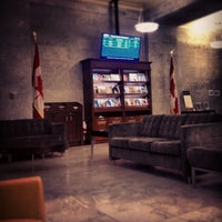 Photo taken at VIA Rail Business Lounge - Union Station by Audunn J. on 8/24/2012