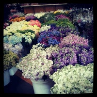 Photo taken at SF Flower Mart by Chris D. on 4/3/2012