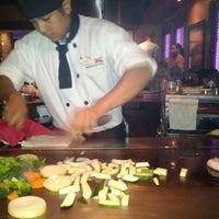 Photo taken at Kobe Japanese Steakhouse & Sushi Bar by Roland H. on 6/8/2012