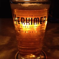 Photo taken at The Herkimer Pub & Brewery by Trevor N. on 2/19/2012