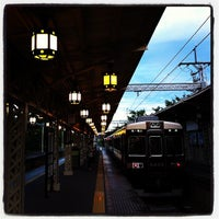 Photo taken at Hankyu Arashiyama Station (HK98) by Zenkyo720 on 8/5/2012
