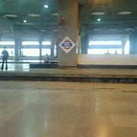 Photo taken at Kharghar Railway Station by Sanket K. on 4/19/2012