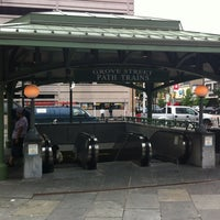 Photo taken at Grove Street PATH Station by Clark G. on 6/12/2012