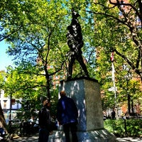 Photo taken at Abingdon Square Park by Seth F. on 4/29/2012