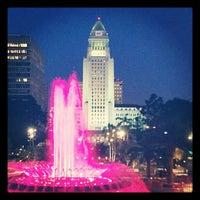 Photo taken at Grand Park by Teresa W. on 8/14/2012