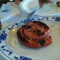 Photo taken at Parrilla Argentina by Marcia S. on 9/8/2012