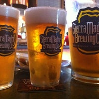Photo taken at Sierra Madre Brewing Co. Pub by Alex R. on 5/3/2012