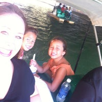 Photo taken at Wheel Fun Boat Rentals by Gina M. on 8/18/2012
