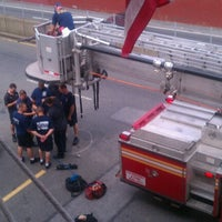 Photo taken at FDNY Engine 89/Ladder 50 The Cookoo's Nest by Ricco D. on 8/11/2012