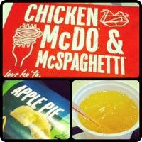 7/30/2012 tarihinde Andrea Ceeziyaretçi tarafından McDonald's'de çekilen fotoğraf