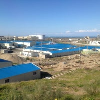 Photo taken at Djen-Djen Port by Wonho K. on 5/4/2012