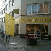 Photo taken at bikeemotion by Mathias on 8/4/2012