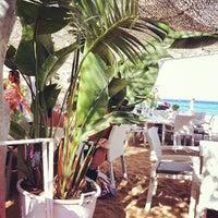 Photo taken at Panormos Beach by Alexandros Alexis on 9/2/2012