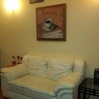 Photo taken at Bacio gelati & caffé by Israel A. on 3/4/2012