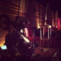 Photo taken at Bikini Beach Bar by Konstantinos P. on 8/18/2012