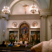 Photo taken at Church of Saint Agnes by Jason K. on 8/12/2012