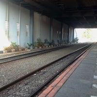 Photo taken at Stasiun Tanah Abang by Toba P. on 6/30/2012