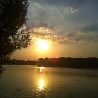 Das Foto wurde bei Парк «Борисовские пруды» von Evgeniya am 8/3/2012 aufgenommen