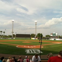 Photo taken at Publix Field at Joker Marchant Stadium by Mike C. on 3/29/2012