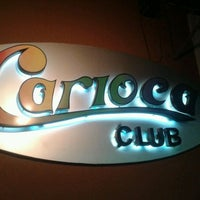 Photo taken at Carioca Club by Clayton M. on 8/13/2012