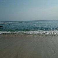 Photo taken at Rancabuaya Beach by Essa S. on 8/24/2012