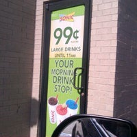 Photo taken at SONIC Drive In by Trevor L. on 5/23/2012