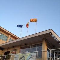 Photo taken at Club Naútico De Castelldefels by Humbert P. on 8/21/2012