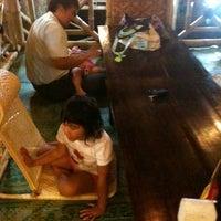 Photo taken at Nusantaraku resto & cafe by Mariana on 8/21/2012