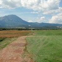 Photo taken at Grandote Peaks Golf Course by Chris K. on 7/15/2012