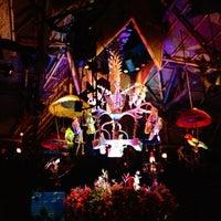 Photo taken at Walt Disney's Enchanted Tiki Room by Travis N. on 4/27/2012