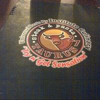 Photo taken at Taurus 27 Steak & Pasta by Marisa H. on 8/31/2012