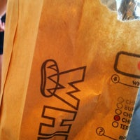 Photo taken at Which Wich? Superior Sandwiches by Jeff A. on 6/14/2012