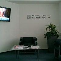 Photo taken at SCHMITZ KNOTH Rechtsanwälte by Carsten V. on 4/4/2012